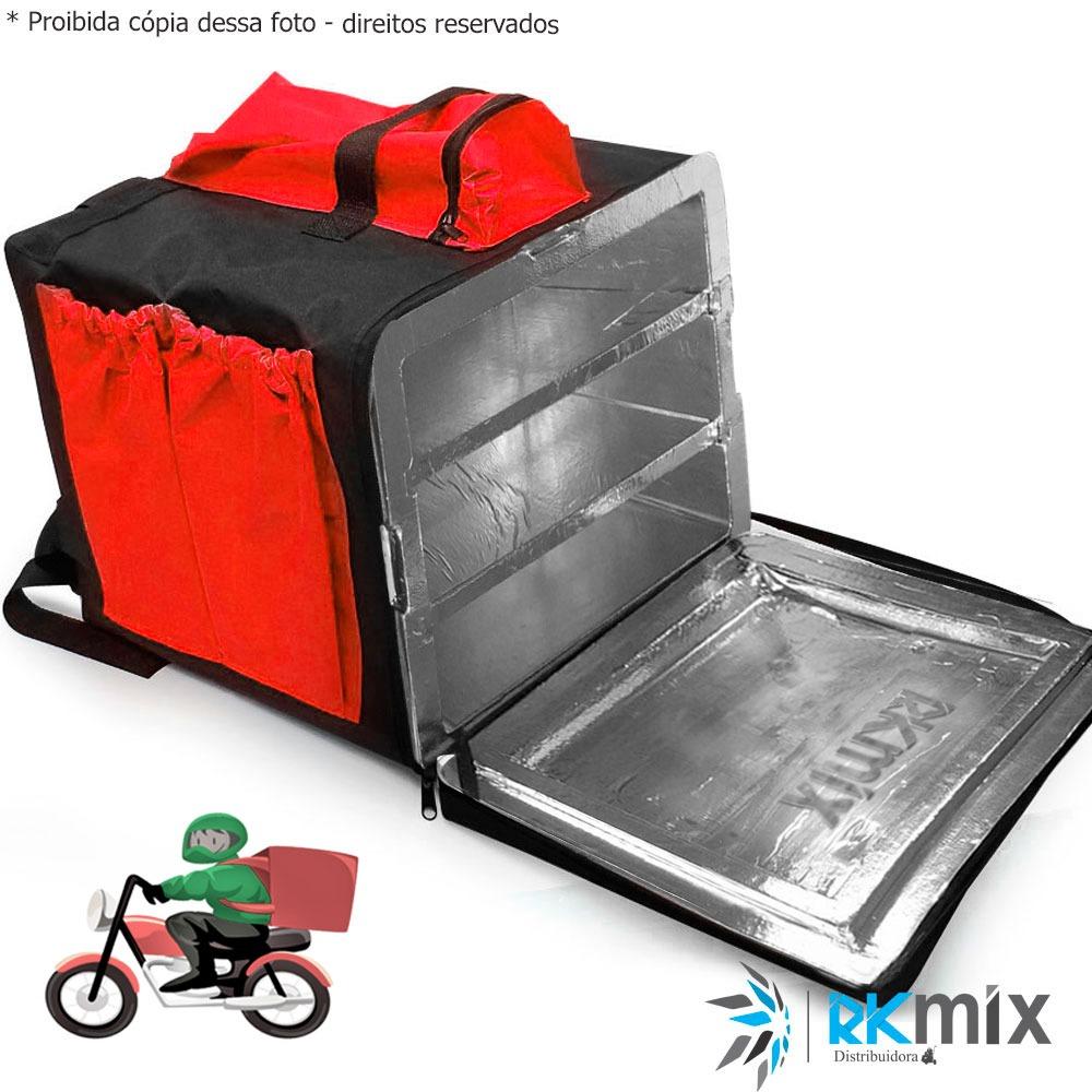 9ee670504 bolsa termica moto delivery entrega pizza lanche 45l 019. Carregando zoom.