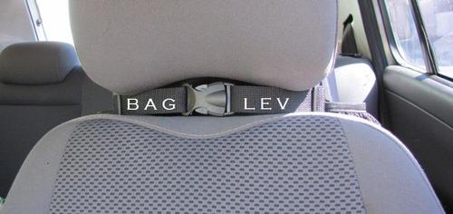 bolsa térmica p/ carro uber top - 2  gel - original bag lev