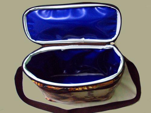 bolsa térmica p/ trufas chocolates brigadeiros + 2 sache gel