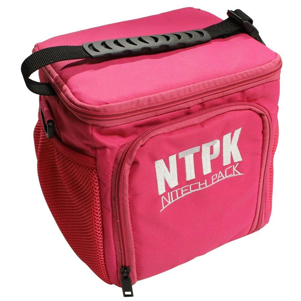 bolsa térmica pequena nitech pack rosa nitech + brinde adipo. Carregando  zoom. f4c02021d98