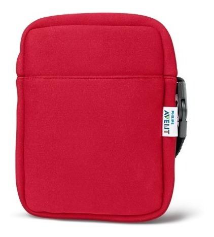 bolsa termica philips avent scd150/50 neopreno rojo