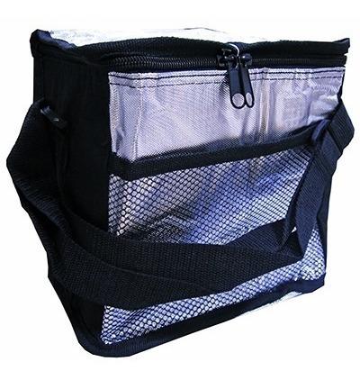 bolsa termica portatil ice cooler 5l dobravel para camping e