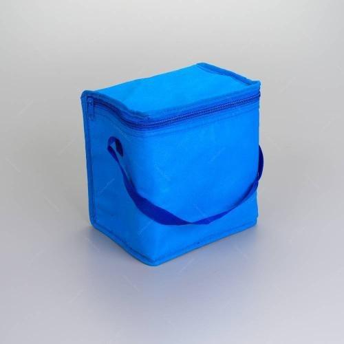 bolsa térmica quadrada hawai azul - 20x15 cm -30301