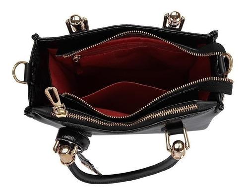 bolsa tiracolo e transversal com carteira feminina oferta
