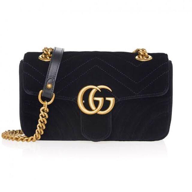 06bd93220 Bolsa Tiracolo Gucci Gg Marmont Preta - R$ 224,00 em Mercado Livre