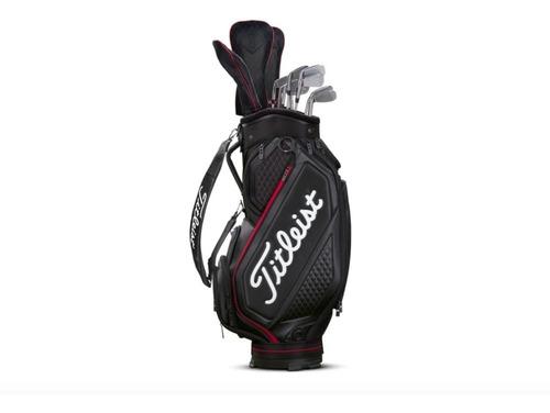 bolsa titleist para palos de golf staff bag mid size