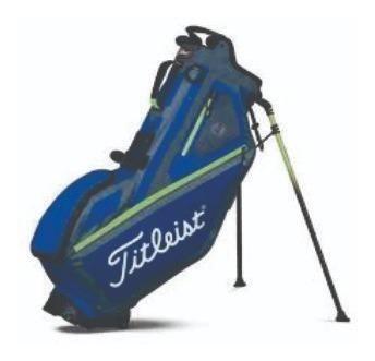 bolsa titleist players 4 blue  envío gratis!    golf center