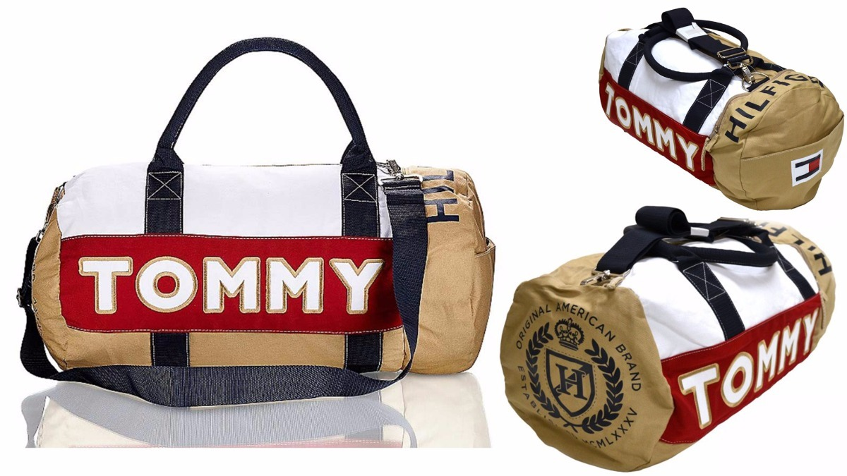 a1b7b079a Bolsa Tommy Hilfiger Grande (duffle Bag Tommy) - Importada - R$ 319,90 em  Mercado Livre