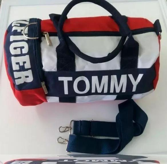 4d0c50f7d6cc1 Bolsa Tommy Hilfiger Mini Pequena Duffle Bag Original - R  80
