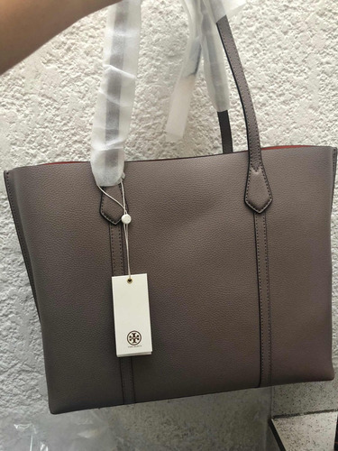 bolsa tory burch 100% original tote mapple perry piel gde