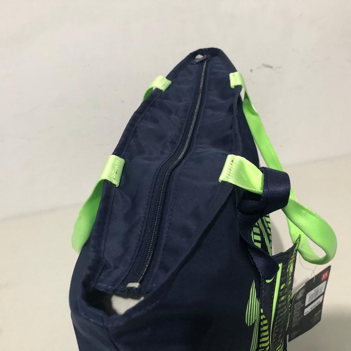 356698050bd Bolsa Tote Deportiva Under Armour 100% Original Azul verde F ...