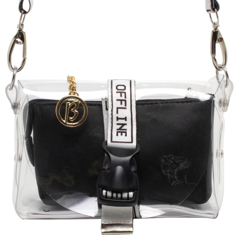 07734fa75 Bolsa Transparente Online 11184906 - R$ 199,96 em Mercado Livre
