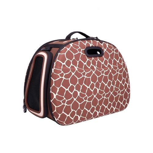 bolsa transporte para pet eva safari girafa original