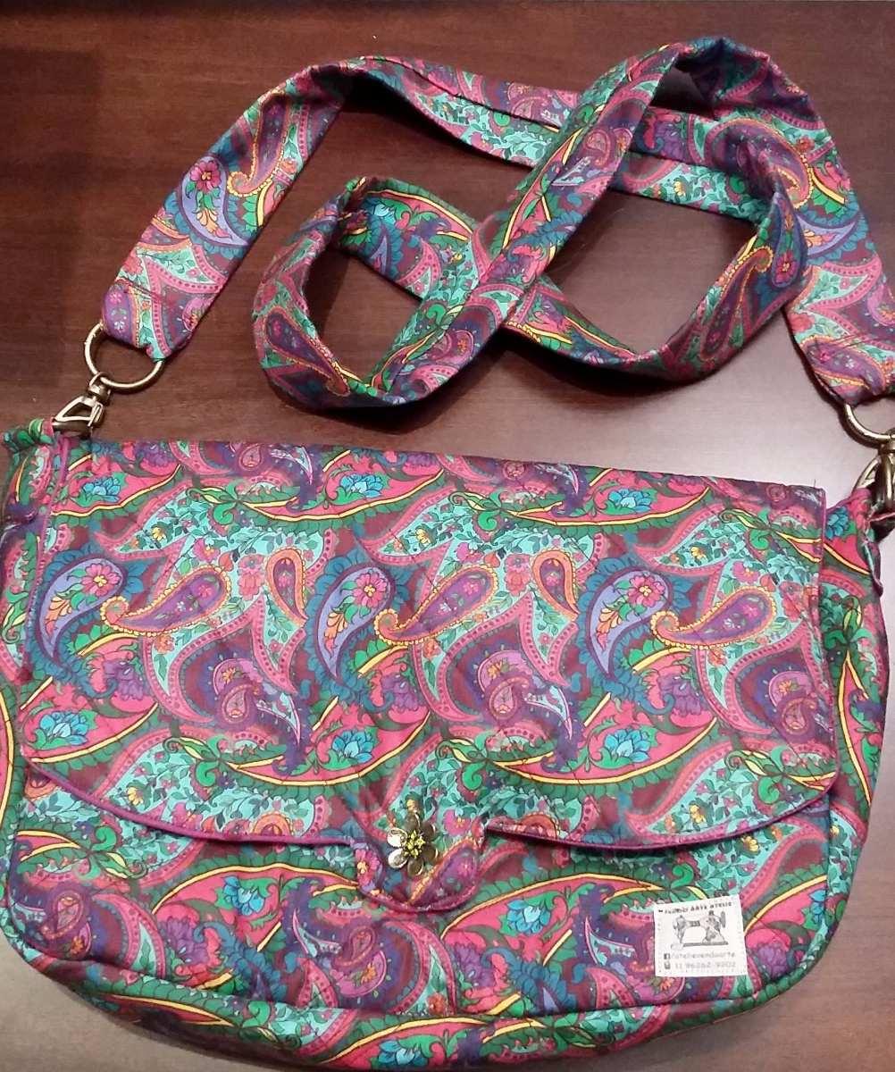 Bolsa Feminina Em Tecido : Como fazer bolsa feminina de tecido mochila lona
