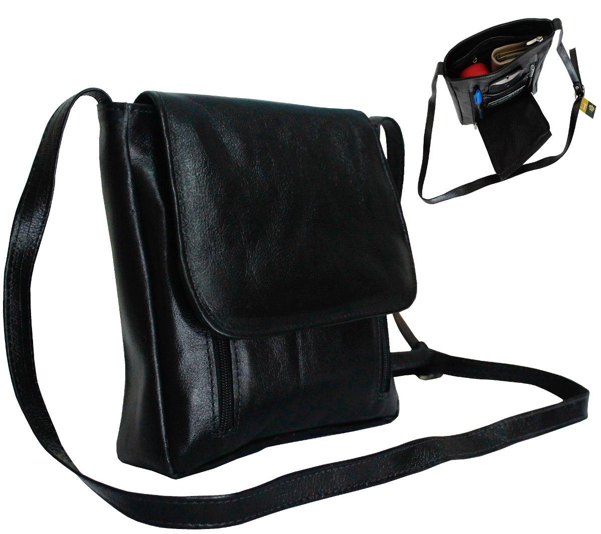 e48b583f0 bolsa transversal feminina, bolsa de couro legítimo preta. Carregando zoom.