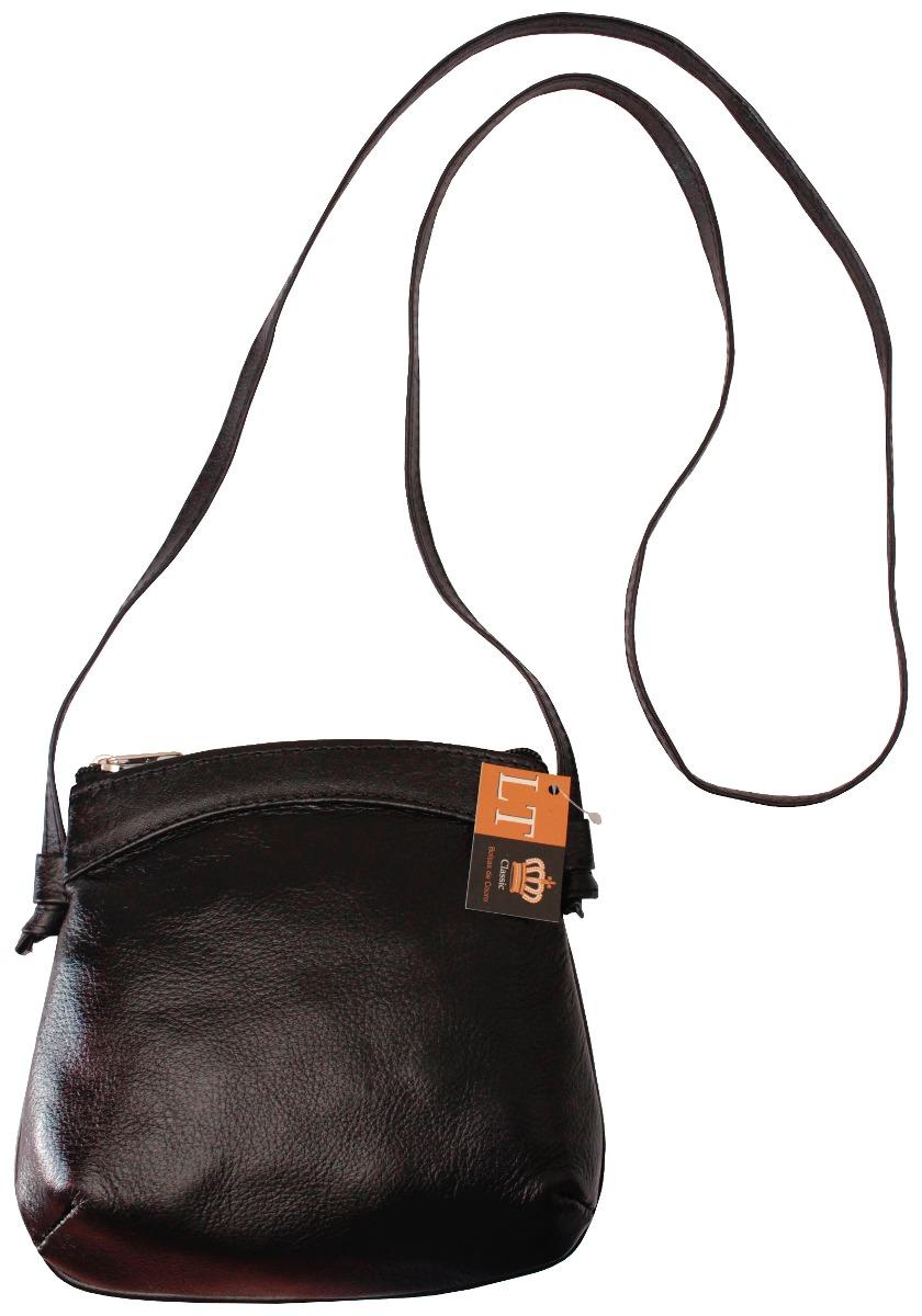 Bolsa Feminina De Couro Guess : Bolsa transversal feminina preta de couro leg?timo