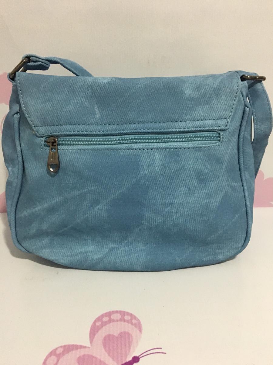 3f70f4605c bolsa transversal feminina jeans importada promoção barata. Carregando zoom.