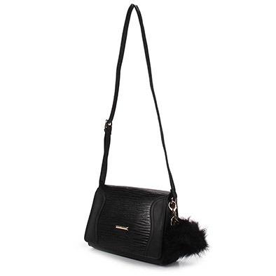 58702f043 Bolsa Transversal Feminina Queens - Preto U - R$ 259,99 em Mercado Livre