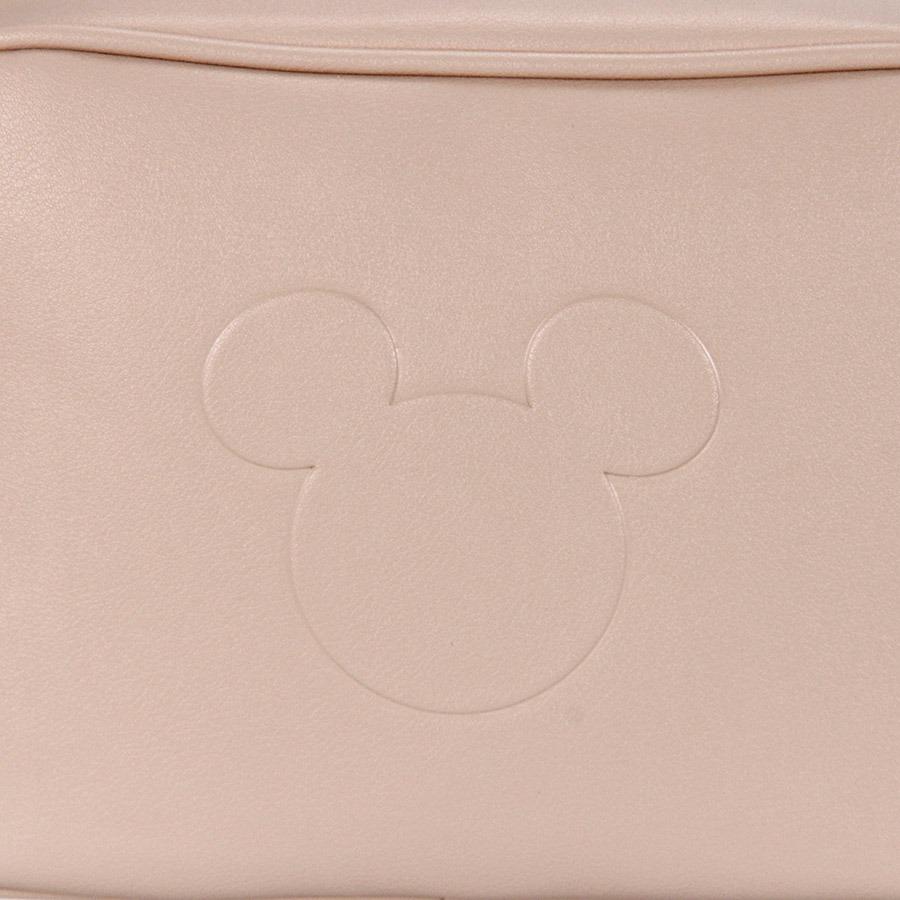 df0a1c7c3 Bolsa Transversal Gash Mickey - Nude - R$ 139,99 em Mercado Livre