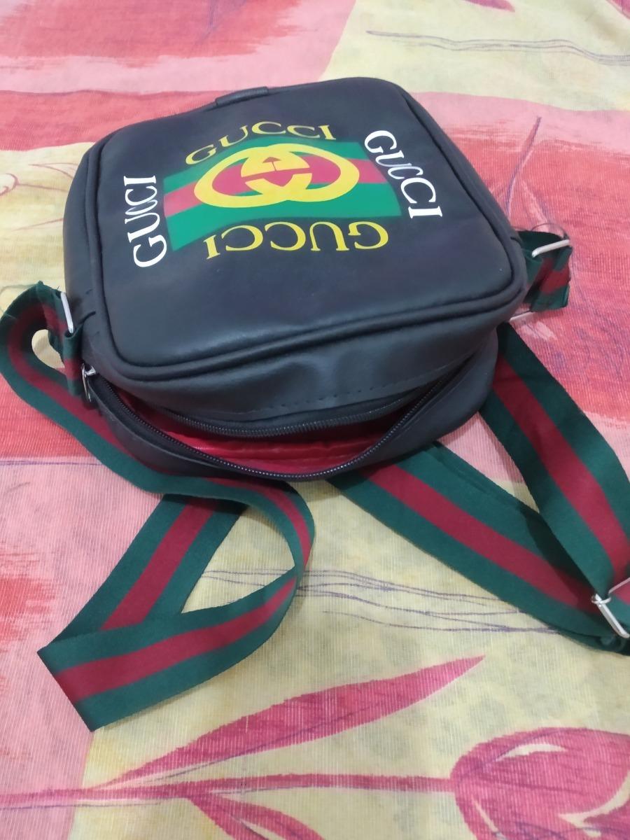 19be5d569 Bolsa Transversal Gucci Mochila Lateral - R$ 35,00 em Mercado Livre
