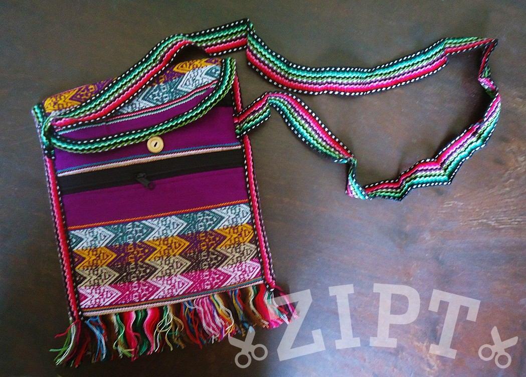 0de84303f bolsa transversal hippie chic - roxo uva | feminina peruana. Carregando  zoom.