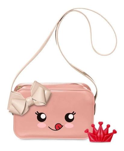 bolsa transversal infantil petite jolie pop rosa pj10011in