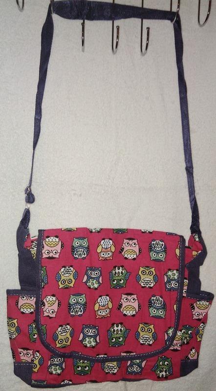 3d61bd43c Bolsa Transversal Tecido Moda Jovem Escolar - R$ 19,90 em Mercado Livre
