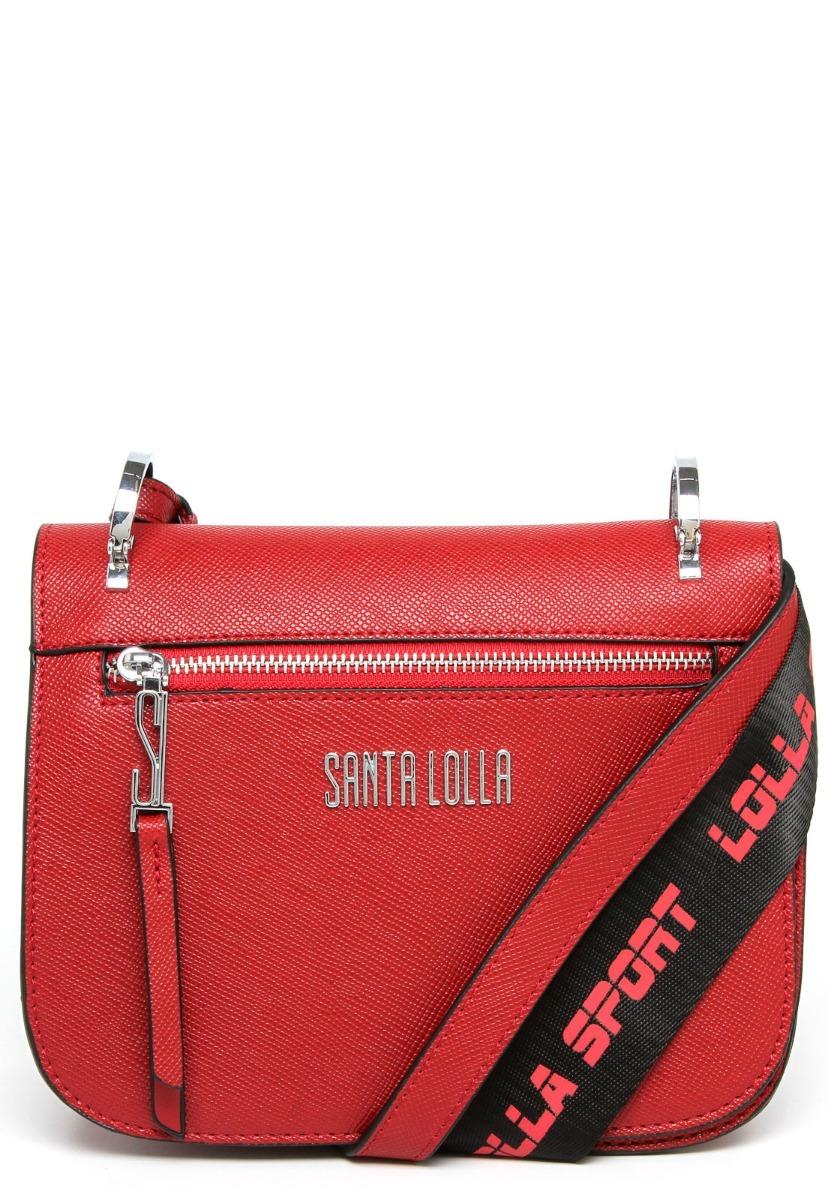 36cba84a8 bolsa transversal tiracolo santa lolla tag vermelha - 1582. Carregando zoom.