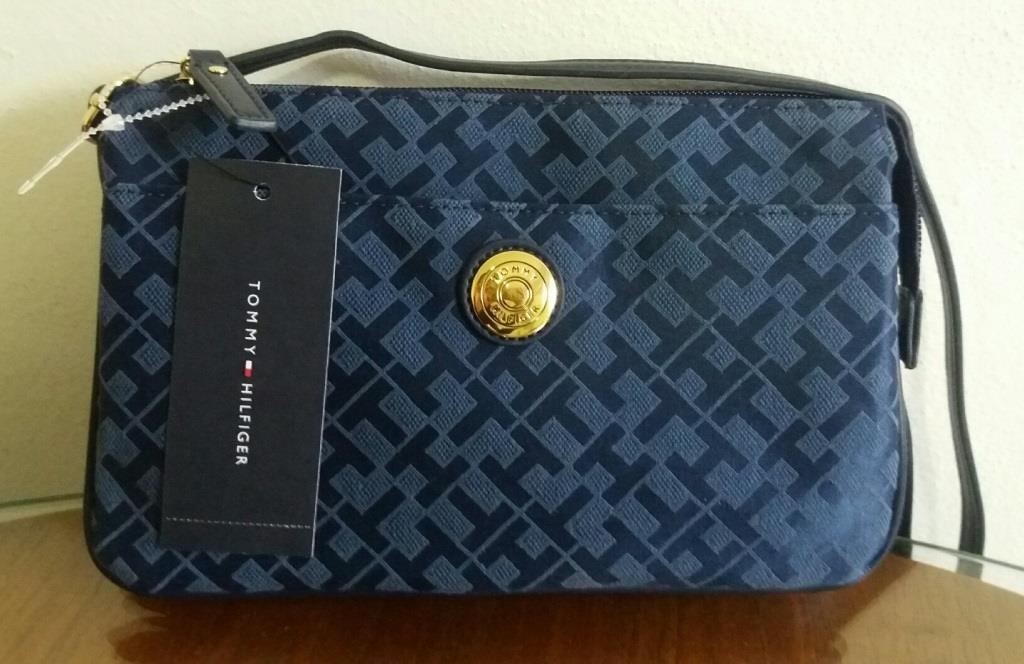 feca5945d bolsa transversal tommy hilfiger azul - origina com etiqueta. Carregando  zoom.