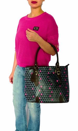 bolsa triangle importada tiracolo ombro feminina executiva
