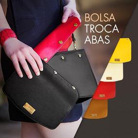 7b451c772 Bolsa Pasta Transversal Com Aba no Mercado Livre Brasil