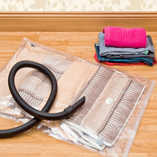 bolsa vacuum 70x110cm  al vacío para ropa oferta loi