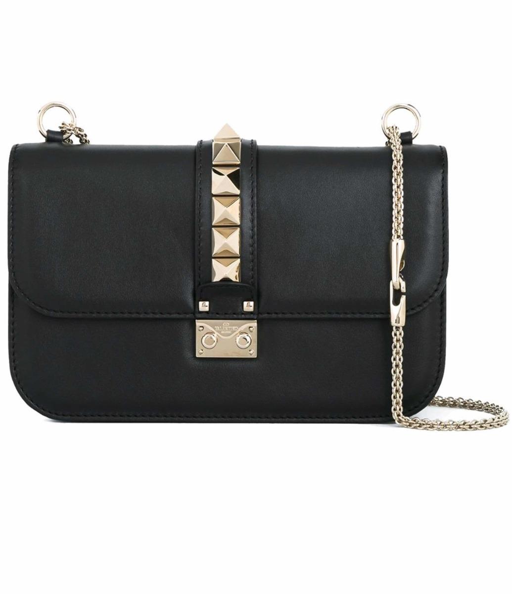 9ee3e46a3 Bolsa Valentino Glam Lock Em Couro - R$ 1.800,00 em Mercado Livre