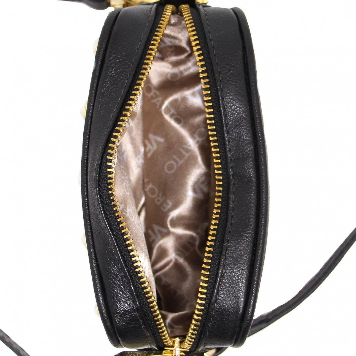 63b78f231 Bolsa Verofatto Casual Pedras Couro   Zariff - R$ 399,99 em Mercado ...