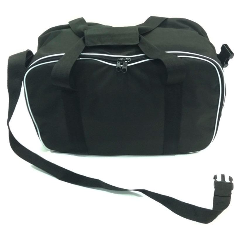 ab07567ee bolsa viagem bau mochila em nylon cor preta camping promoção. Carregando  zoom.