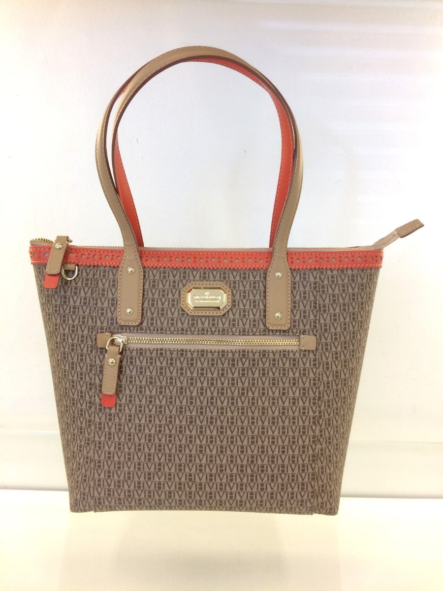 Bolsa Victor Hugo Foxy Medium Canvas Original - R  1.698,00 em ... c5f86908c2