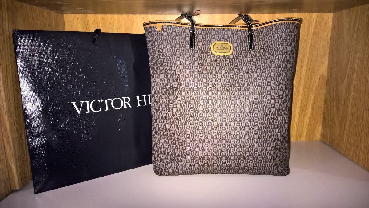 Bolsa Victor Hugo Modelo Lindsay - R  700,00 em Mercado Livre f28dd378a6