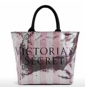 d76169036 Bolsa Victoria Secret Prata no Mercado Livre Brasil