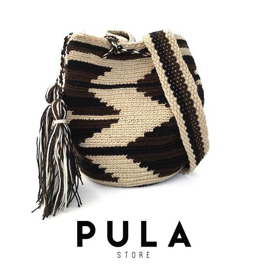 Wayuu Bolsa Colombiana Colombiana Wayuu Pequeña Bolsa D2EHY9WI