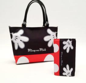 Bolso Y Mouse Bolsa Hug Cartera Combo Mickey 05 XTZPklwOiu