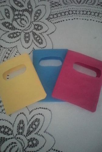 bolsa:para cotillones realizadas en tela ecológica pop 20x25