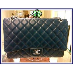 e6d8e0a346be2 Bolsa Chanel Couro Original Com Autenticidade