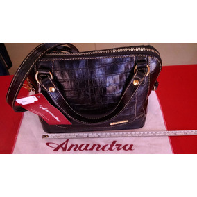 e89f9f1a7 Linda Bolsa De Couro Anandra Dourada Femininas - Bolsas no Mercado ...