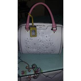 8d4db2a41 Bolsas Nicole Lee Clon - Bolsas Rosa claro en Mercado Libre México