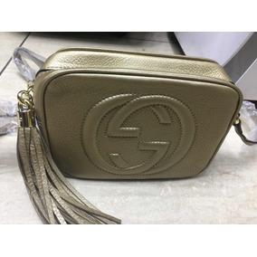 a67fdeb409713 Bolsa Gucci Soho Original Dourada - Bolsas no Mercado Livre Brasil