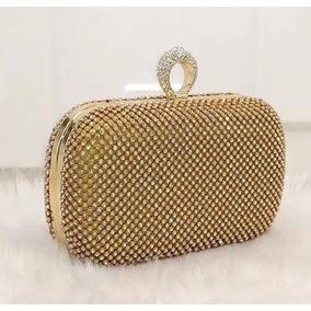 c80306073 Clutch Bag De Oncinha Importada! (bolsa De Mão) - Bolsas Femininas Dourado  no Mercado Livre Brasil