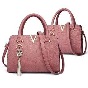 9b3c7675a Bolsa Em Couro Vanda Pires Femininas - Bolsa Outras Marcas Rosa em ...