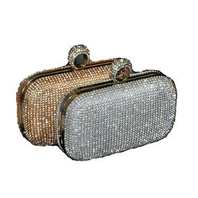 8a369426b Bolsa Feminina Importada Pedrarias Cristais Luxo Clutch Bag