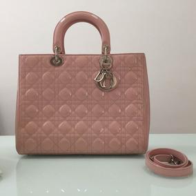 a12c2883e Bolsa Dior Usada - Bolsa de Verniz Femininas, Usado no Mercado Livre ...