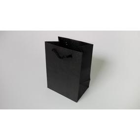 4c29e6b0a 60 Bolsa Papel Kraft Con Asa De Macramé Negra Micro
